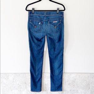 Hudson straight leg woman's signature denim jeans